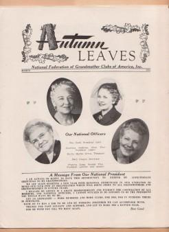 autumn leaves mar 1950
