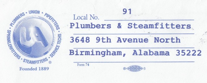 Copy of knight sam union local 91 bhm envelope