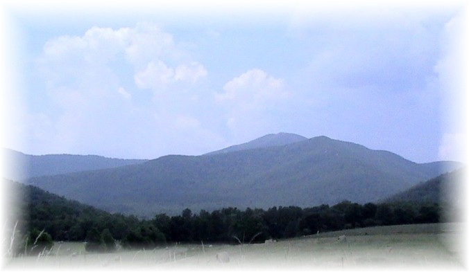 Lewis Blue Ridge Mts west of Charlottesville - Copy