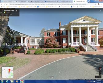 faulkner house on google maps