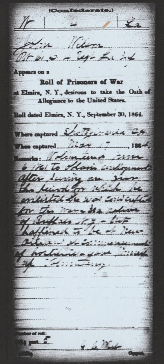 Copy of wilson civil war 1 sep 1864 elmira roll