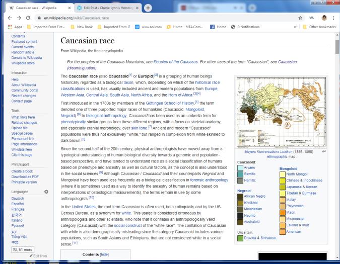 caucasian 1