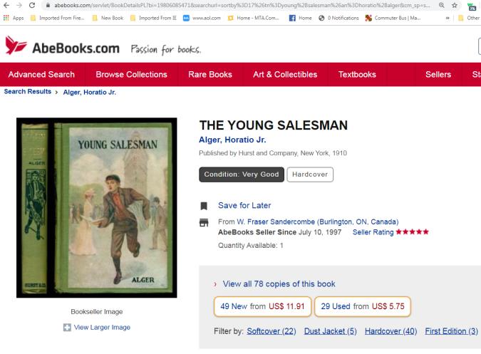 alger salesman