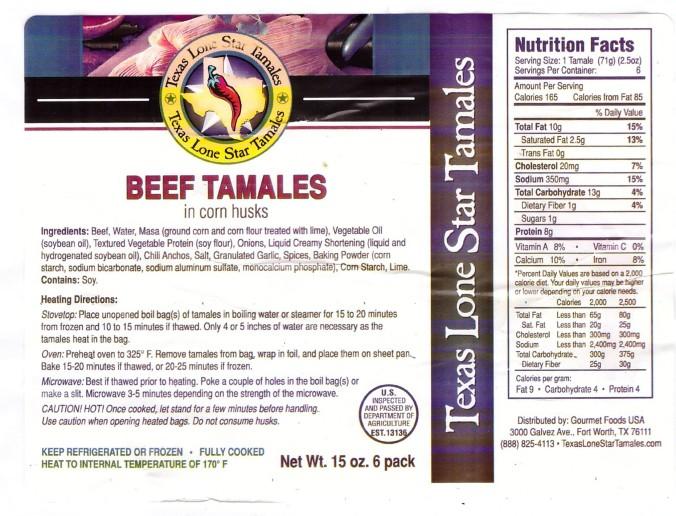 lone star tamales