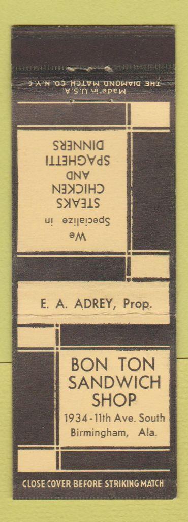 match book adrey mbc571837a
